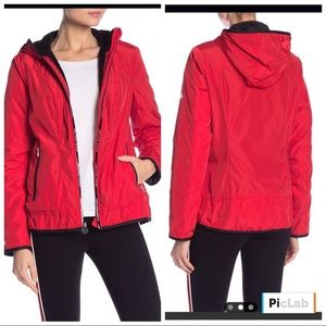 Michael Kors plush lined windbreaker jacket
